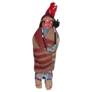 Skookum Indian Doll Vintage Native American Indian Woman Doll