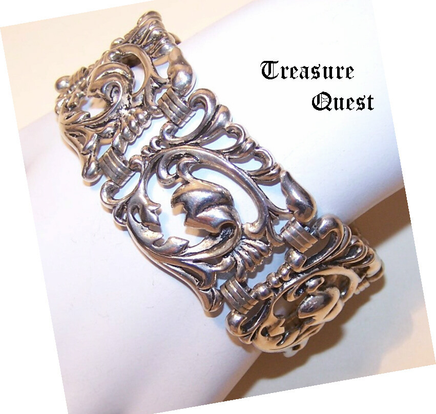 Outstanding STERLING SILVER Link Bracelet by Danecraft!