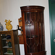 1940s Corner Cabinet
