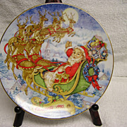 1993 Avon Collectible Christmas Plate