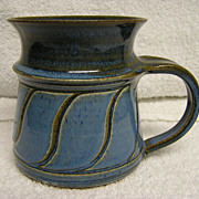 Vintage Ceramic Pottery Mug By &quot;Susan&quot;