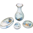 Limoges Castel France ~ Hummelwerk ~ Porcelain Dresser Set