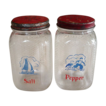 Hazel Atlas Glass ~ Dutch Salt and Pepper Shakers