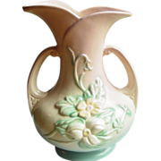 "Hull Art Pottery ~ Wildflower Vase ~ 7 1/2"" ~ 1946-1947"