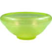 Fenton Art Glass ~ Stretch Glass Bowl ~ Florentine Green ~ 1917-1928