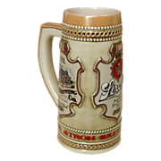 Stroh's Brewery Stein ~ Heritage Series III ~ 1986