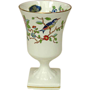 Aynsley English Fine Bone China ~ Mini Vase ~ Pembroke Pattern