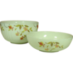 Jewel Tea Autumn Leaf Bowls ~ 1 - Large Mixing, 2 - Large Salad