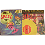 Little Golden Records ~ 1949 - Five Little Firemen & 1959 - Little Space Girl