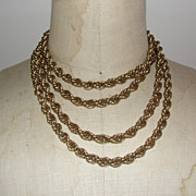 Amazing 14 Kt Gold Filled Chain Necklace