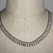 Sterling Silver Indian Necklace