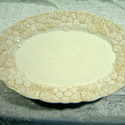 Vintage Metlox Poppy Trail Antique Grape Oval Platter