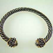 Vintage Classic Cable Style Bracelet