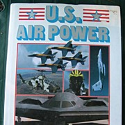 SOLD U.S. Air Power - Fighters, Bombers, Recon and Much More - 1989 - Red Tag Sale Item