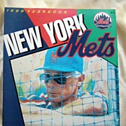 1990 New York Mets Yearbook - Revised Edition