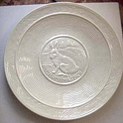 Belleek 1979 Limited Edition Christmas Plate - A Hare at Rest