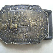 American Express Company - Wells, Butterfield Co. Belt Buckle