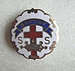 Baptist Sunday School Cross & Crown Pin - Second Year