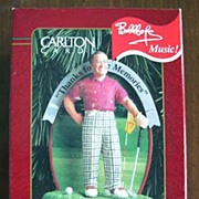 "Carlton Cards - Bob Hope ""Thanks Fore the Memories"" Musical Ornament - 1999"