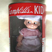 Horsman Campbell's Kid Junior Series Doll and Bank - 1998