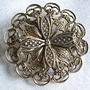 FREIRICH Two Dimensional Round Pin with Maltese Cross