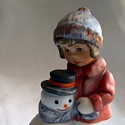 Goebel - A Gift for Snowman figurine - 2001