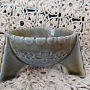 Wade Ireland Fine Irish Porcelain Footed Salt Cellar Dish