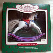 Hallmark Handcrafted Rocking Horse Ornament - 1987