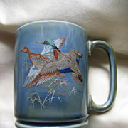 Made in Ireland Stein or Mug with Pair of Flying  Ducks