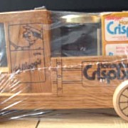 SALE KELLOGG's Crispix Cereal in a Wooden Toy Truck - 1986