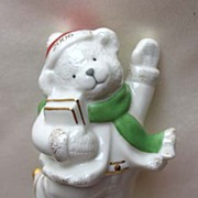 LENOX  Skating Bear Figurine - 2006