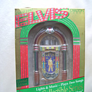 SALE Carlton ELVIS 1997 Musical Ornament - #47 - Third in Series