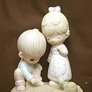 Enesco Precious Moments Tracing Heart in Sand Figurine