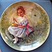 "Signed ""Little Miss Muffet"" Ltd Ed Plate by J. McClelland - 1981"