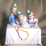 Norman Rockwell Miniature Figurine- Birthday Party