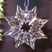 Swarovski Crystal 2003 Snowflake Ornament - retired