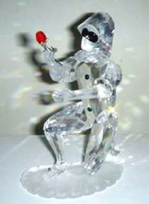 """Harlequin""  Swarovski Crystal 2001 Annual Edition Piece"