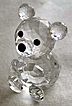 Swarovski Crystal Mini Bear Figurine - Retired
