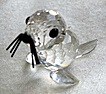 Swarovski Crystal Mini Seal Figurine - Retired
