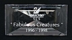 "Swarovski Crystal ""Fabulous Creatures"" Title Plaque"