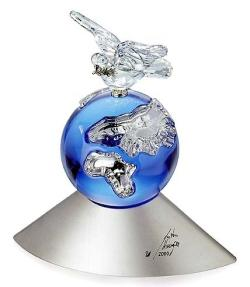 "Swarovski ""Crystal Planet""  2000 Millennium Limited Edition Piece"