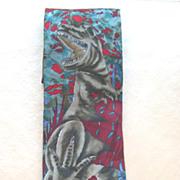 Nature's Museum Collection Dinosaur 100% Silk Tie