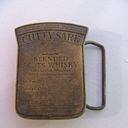 Cutty Sark Blended Scots Whisky Belt Buckle