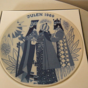 Porsgrund  Norway Three Wise Men Plate - Julen 1969