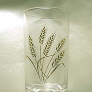 SALE Nine HOMER LAUGHLIN Golden Wheat  4 oz Juice Glasses