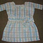 SALE Sweet Old Doll Dress - Handsewn