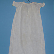 Long Gown For Bisque Baby Doll