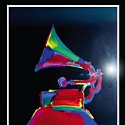 Peter Max Limited Edition Grammy �89 Serigraph