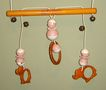 "Bakelite and Plastic ""Crib Circus"" Mobile Crib Toy"