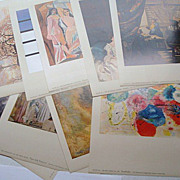 Metropolitan Seminars in Art  Abstraction 1958 12 Color Prints